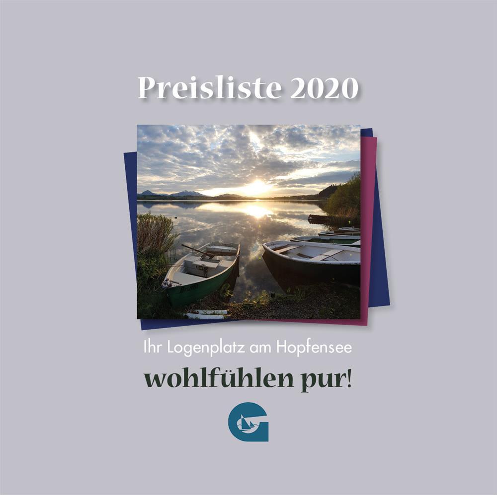Preisliste 1 2020